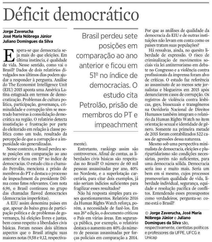 [8] Déficit democrático